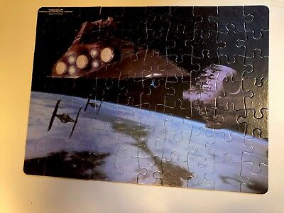 Star Wars Vintage Puzzle RARE 1983 Star Destroyer Death