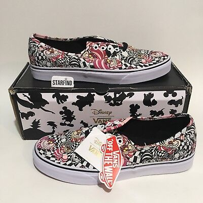 ce0aab661730 VANS Disney Authentic Cheshire Cat Alice In Wonderland Mens 10 Womens 11.5  SEE