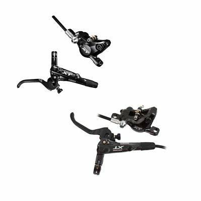 SHIMANO kit brakes disc deore xt m8000 front + rear pads g02a IM8