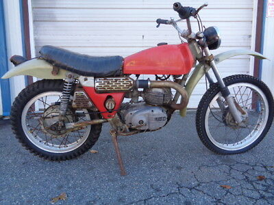 1971 Bultaco BULTACO 250 MATADOR  1971 BUTACO MATADOR 250   PROJECT BARN FIND LOOK WOW!!!!!