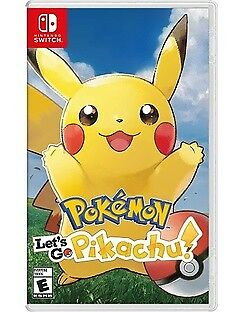 1 x Brand New Pokemon Let's Go Pikachu - Nintendo Switch