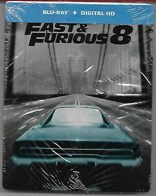 FAST AND FURIOUS 8 / Blu-Ray Steelbook Neuf sous blister - VF
