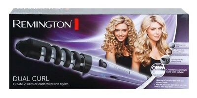 Remington Dual Curl hair Styler CI63E1 thickness 19mm and 31mm up-to 200 °