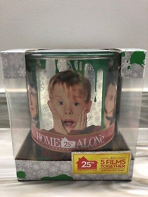 Home Alone 25th Anniversary Movie Collection With Paint Bucket & Memorabilia