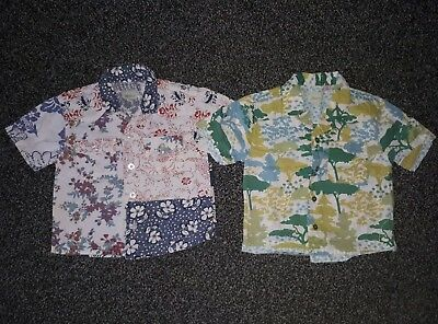 2 x Monsoon 12 - 18 Months Boys Shirts 1 1.5 Years Tops EXCELLENT CONDITION