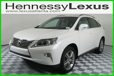 2015 Lexus RX 4DR FWD 2015 4DR FWD Used Certified 3.5L V6 24V Automatic FWD SUV Premium Moonroof