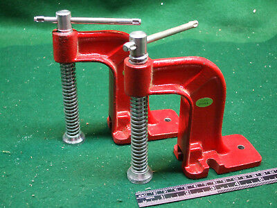 "Pair of 3"" Hold Down Clamps - Used"
