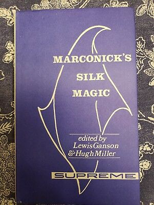 Close-Up-Tricks Marconick´s Original Magic 5 englischsprachiges  Manuskript
