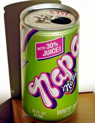 Napa Naturals White Grape; Seven-Up Bottling Co.; Sacramento, CA; Soda Pop Can