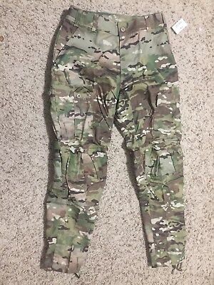 ARMY COMBAT PANTS w/ Crye Knee Pad Provisions, Multicam OCP, MEDIUM REGULAR, M-R