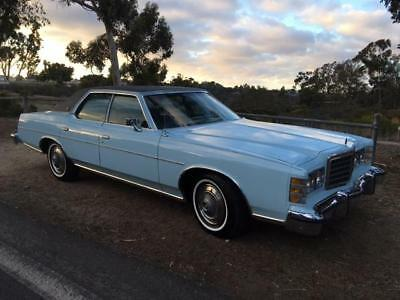 1976 Ford LTD Brougham  1976 Ford LTD Brougham with 29,500. One California owner. Garaged, Exceptional !