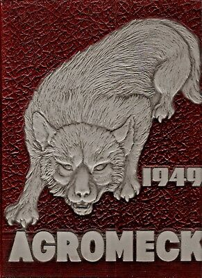 1949 Agromeck - NC State University Yearbook  - ALL NAMES IN LISTING!