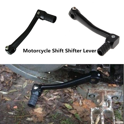 Black Motorcycle Aluminum CNC Folding Gear Transmission Shifter Shift Lever