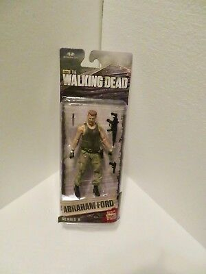 Amc The Walking Dead Abraham Ford With Gun Series 8 In Original Package