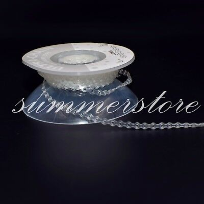 3 Rolls Long+Short+Continuous Dental Orthodontic Elastic Power Chain Band Clear