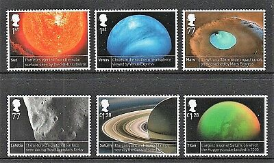 GB Stamps 2012 'Space Science' - unmounted mint