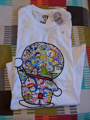 ddc3ca37 Uniqlo Takashi Murakami Doraemon T Shirt Size XL Short Sleeve New With Tags