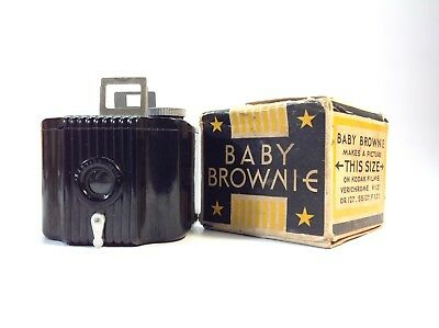 Vintage Bakelite Kodak Baby Brownie Film Camera