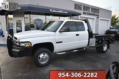 1998 Dodge Ram 3500 SPORT 1998 Dodge Ram 3500 4x4 5.9 12 Valve Cummins Turbo Diesel 5 speed manual Flatbed