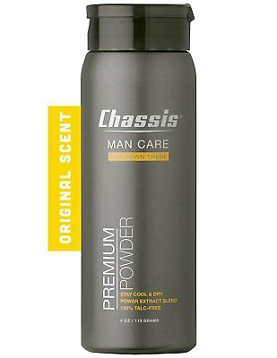 Chassis Premium Body Powder for Men Original Fresh Scent - Sweat Odour Chaffing