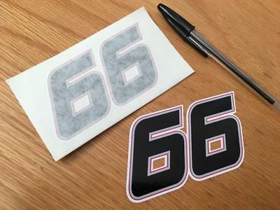 Tom Sykes Race Number 66 (Small Pair)