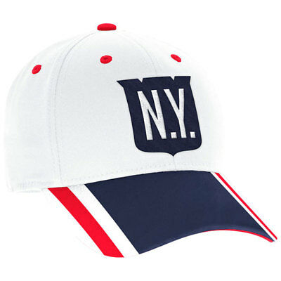 New York Rangers Adidas 2018 Winter Classic Structured Flex Fit Hat S M 37ff5e33a