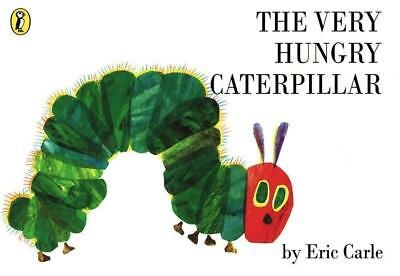The Very Hungry Caterpillar by Eric Carle Paperback Children's Kids Book