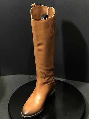 32629ece2b5317 Sam Edelman Penny Brown Leather Tall Knee High Riding Womens Boots Size 8  Medium