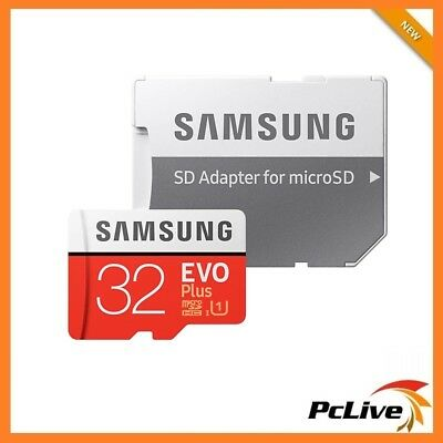 Samsung 32GB 64GB 128GB 256GB EVO Plus microSD Card SD adapter for Phone Camera