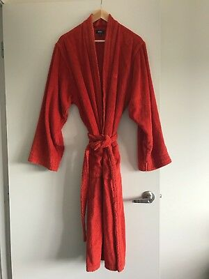 HUGO BOSS Size L TOWELLING BATHROBE/DRESSING GOWN