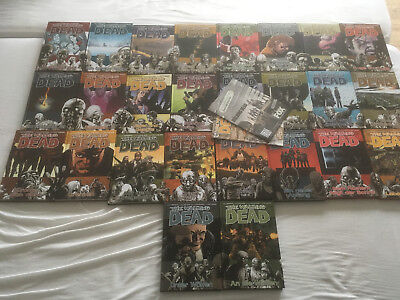 The walking dead Comic Hardcover Sammlung, deutsch, Band 1-26, top Zustand
