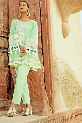 Embroidered Pakistani/Indian Designer Party wear Women Dress