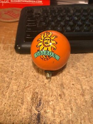 Bell's Oberon---Ceramic-----Beer Tap Handle Topper Ball