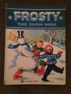 Vintage FROSTY THE SNOWMAN 1979 A GOLDEN BOOK