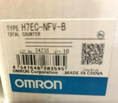 Omron H7Ec-Nfv-B Total Counter. New In Box!