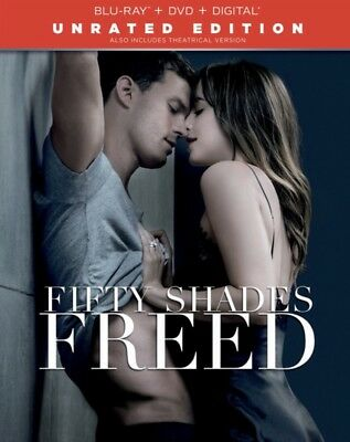 Fifty Shades Freed [Includes Digital Copy] [Blu-ray/DVD] [2018] Free Shipping 📦