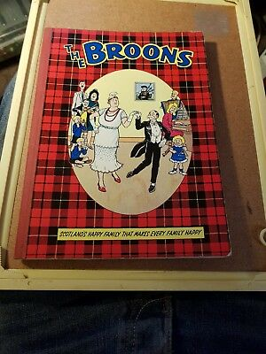 The Broons 1966 Annual By DC Thompson
