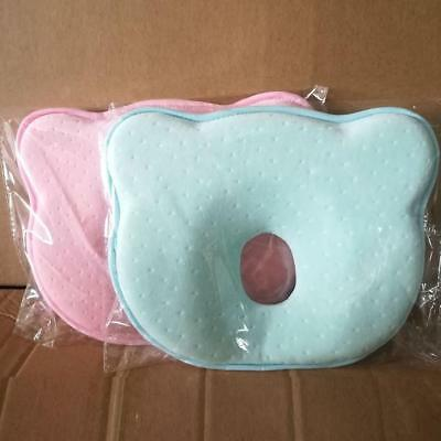 Baby Pillow Soft Infant Head Orthopedic Shaping Pillow Memory Foam Sleep