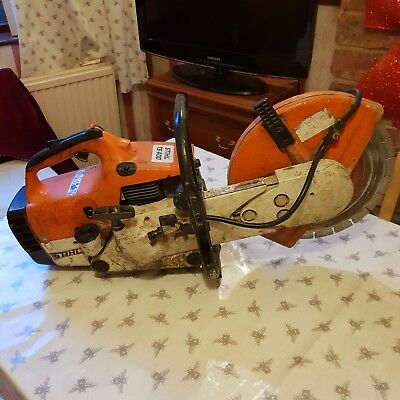 Stihl TS400 Petrol Cut Off Saw Concrete Steel Saw