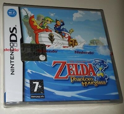 The Legend Of Zelda Phantom Hourglass DS  COMPLETO Nuovo Nintendo Bandai Namco