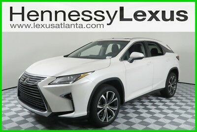 2017 Lexus RX  2017 Used Certified 3.5L V6 24V Automatic FWD SUV Premium