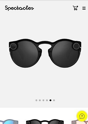2018 Snap Inc Spectacles SnapChat in All Black *Pre-Order* NICO /Veronica /ORIG