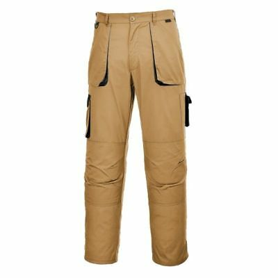Portwest TX11 Texo Contrast Cargo Trouser Work Wear Trousers Overalls Builders