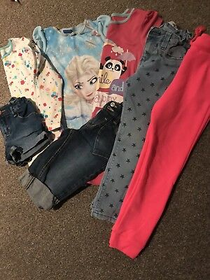 Girls Clothing Bundle, X7 Items, 5-6yrs