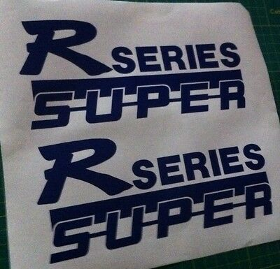"""Scania /""""S Series Super/"""" Logo Stickers Decals Graphics x 2"""