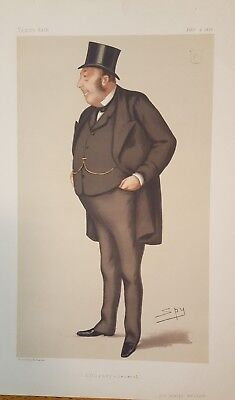 "VANITY FAIR Spy characture "" Attorney General"""