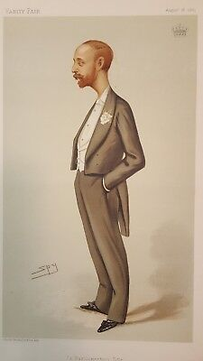 "VANITY FAIR Spy characture "" a parliamentary Title"""
