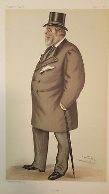 "VANITY FAIR Spy characture  ""Charlie"" July 7th 1883"