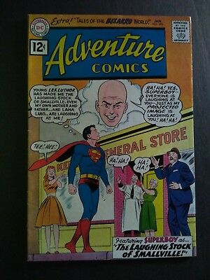 1962 #292 Dc Adventure Comics Superboy Silverage Super Unreal Glossy Colors