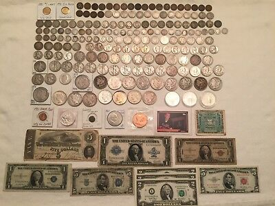 Gold, Silver, Collector/Investor US Coin Lot: Rare Dates, Type Coins, Morgan $